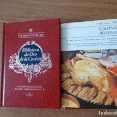 Libros de segunda mano: BIBLIOTECA DE ORO DE LA COCINA -TOMO 23 -VER DESCRIPCIÓN DE LAS RECETAS. Lote 214122461