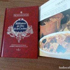 Libros de segunda mano: BIBLIOTECA DE ORO DE LA COCINA -TOMO 21 -VER DESCRIPCIÓN DE LAS RECETAS. Lote 214123208