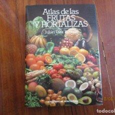 Libros de segunda mano: ATLAS DE FRUTAS Y HORTALIZAS. Lote 214124203