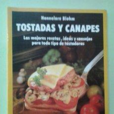 Libros de segunda mano: LMV - TOSTADAS Y CANAPES. HANNELORE BLOHM. Lote 214153663