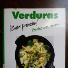 Libros de segunda mano: VERDURAS. RECETAS CON CHISPA. JOHANNA HANDSCHMAN. CIRCULO LECTORES. 1990.. Lote 214647357