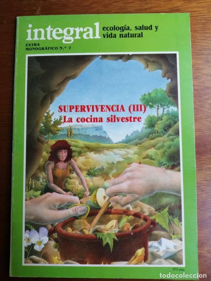 SUPERVIVENCIA III LA COCINA SILVESTRE INTEGRAL EXTRA MONOGRÁFICO 7 (Libros de Segunda Mano - Cocina y Gastronomía)