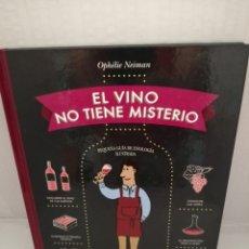 Libros de segunda mano: EL VINO NO TIENE MISTERIO: PEQUEÑA GUIA DE ENOLOGÍA ILUSTRADA. Lote 214779203