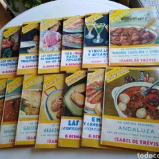 Libros de segunda mano: LOTE DE 13 LIBRILLOS BIBLIOTECA EL AMA DE CASA. Lote 240845715