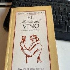 Libros de segunda mano: EL MUNDO DEL VINO. Lote 215325840