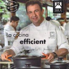 Libros de segunda mano: LA COCINA EFFICIENT DE MARTIN BERASATEGUI (PRECINTADO). Lote 215351483
