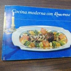 Libros de segunda mano: COCINA MODERNA CON RENA- WARE.. Lote 215504806