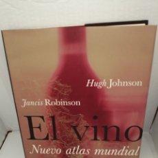 Libros de segunda mano: EL VINO. NUEVO ATLAS MUNDIAL (PRIMERA EDICIÓN). Lote 215603606
