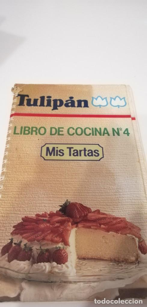 G-32 LIBRO TULIPAN LIBRO DE COCINA Nº 4 MIS TARTAS (Libros de Segunda Mano - Cocina y Gastronomía)