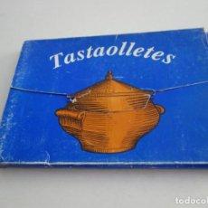 Libros de segunda mano: TASTAOLLETES. RECEPTARI DE CUINA . PRIMERA EDICIÓ SANT JORDI 1989.. Lote 215810520