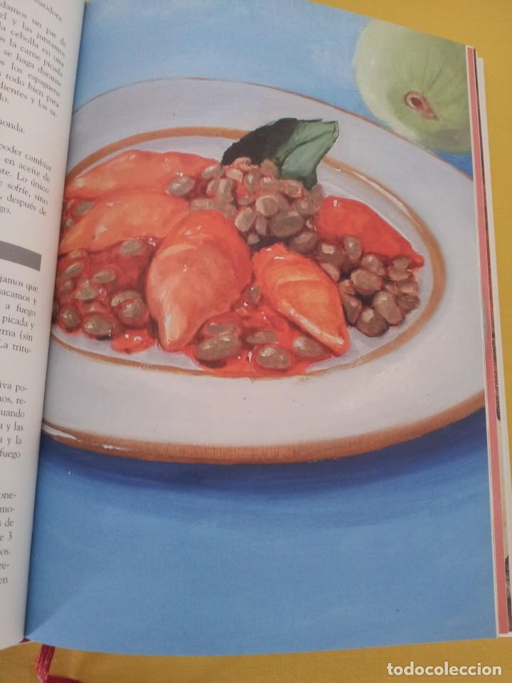 Libros de segunda mano: EL RECETARIO DE MERCEDES - LA PASION POR LA COCINA - EDITORIAL LA MAQUINA CONTEMPORANEA 2004 - Foto 10 - 216713022