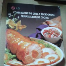 Libros de segunda mano: COMBINACION DE GRILL Y MICROONDAS.-PRIVATE LIBRO DE COCINA. Lote 217325888