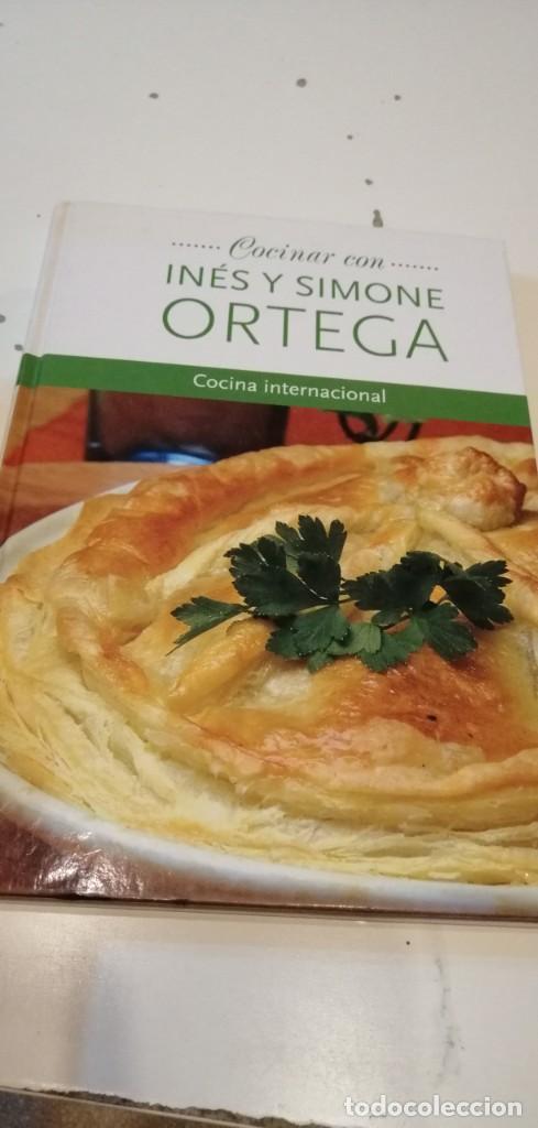 C-3 LIBRO COCINAR CON INES Y SIMONE ORTEGA COCINA INTERNACIONAL (Libros de Segunda Mano - Cocina y Gastronomía)