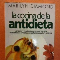 Libri di seconda mano: LA COCINA DE LA ANTIDIETA. MARILYN DIAMOND. EDITORIAL URANO. Lote 218096948