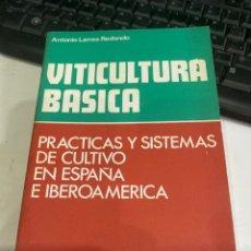 Libros de segunda mano: VITICULTURA BASICA. Lote 218317112