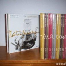 Libros de segunda mano: COCINA CON FIRMA . EDICIONES EL PAIS . 20 LIBROS. Lote 218715593