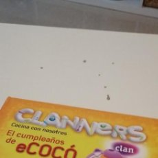 Libros de segunda mano: C-5 LIBRO CLANNERS - COCINA CON NUESTROS - PANINI BOOKS. Lote 218747516