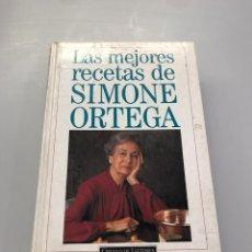 Libros de segunda mano: LAS MEJORES RECETAS DE SIMONE ORTEGA. Lote 218759128