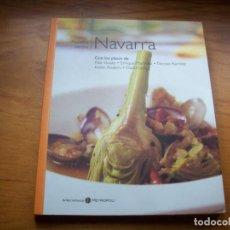 Libri di seconda mano: COLECCION NUESTRA COCINA : TOMO XIV NAVARRA . CIRO EDICIONES 2004 .. Lote 218826472