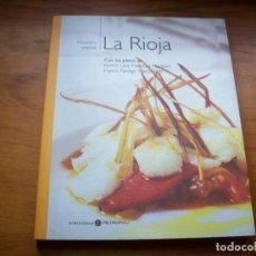 Libri di seconda mano: COLECCION NUESTRA COCINA : TOMO XVI LA RIOJA . CIRO EDICIONES 2004 .. Lote 218826686