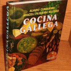 Libros de segunda mano: COCINA GALLEGA. ALVARO CUNQUEIRO. ARACELI FILGUEIRA IGLESIAS. GALICIA.. Lote 218942925