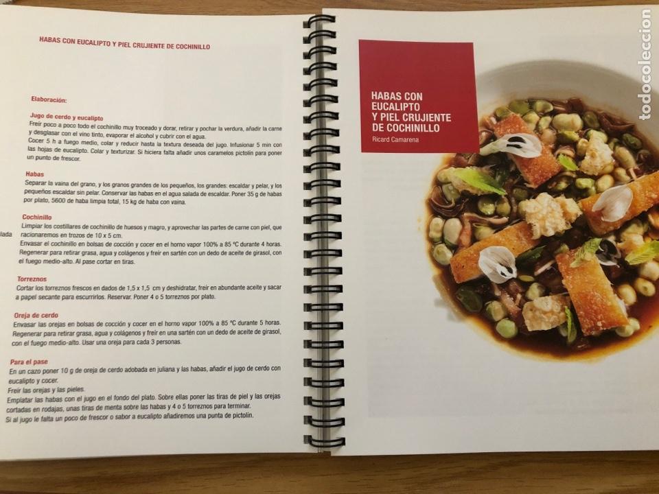 Libros de segunda mano: BCN vanguardia 2012 Alimentaria libro con recetas del congreso. Gastronomía 177 paginas - Foto 3 - 219060827