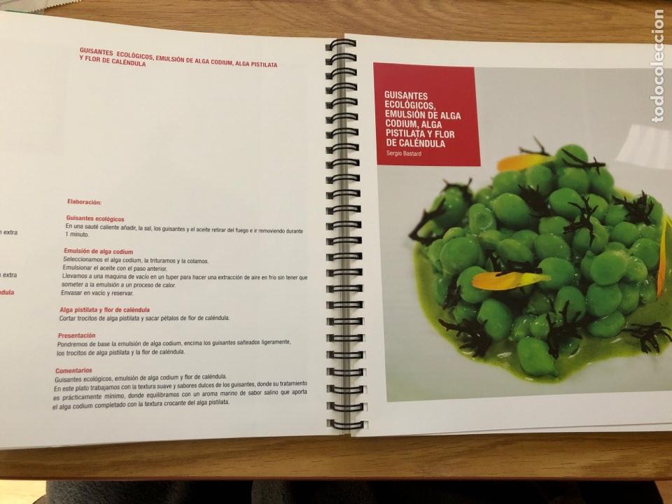 Libros de segunda mano: BCN vanguardia 2012 Alimentaria libro con recetas del congreso. Gastronomía 177 paginas - Foto 4 - 219060827