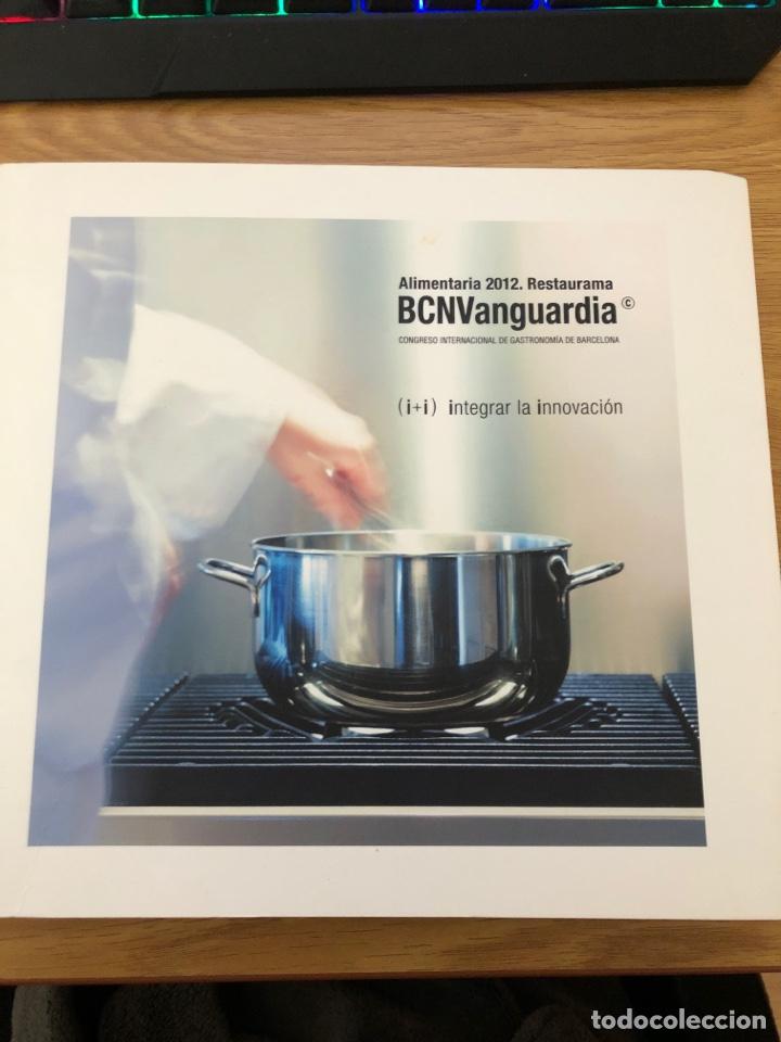 BCN VANGUARDIA 2012 ALIMENTARIA LIBRO CON RECETAS DEL CONGRESO. GASTRONOMÍA 177 PAGINAS (Libros de Segunda Mano - Cocina y Gastronomía)