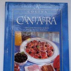 Libros de segunda mano: JAVIER HERNÁNDEZ DE SANDE: COCINA CÁNTABRA.. Lote 219196801