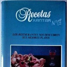 Libros de segunda mano: VARIOS - RECETAS XANTAR Nº12 (GUÍA GASTRONÓMICA DE CATALUÑA-NAVARRA-MADRID-VIZCAYA-GUIPUZCOA). Lote 219204022