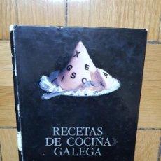 Libros de segunda mano: RECETAS DE COCIÑA GALEGA - CARMEN PARADA - EN GALLEGO. Lote 219341428