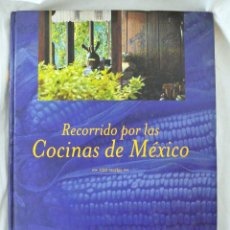 Libros de segunda mano: LIBRO RECORRIDO POR LAS COCINAS DE MEXICO, 120 RECETAS, MAGGI, 1999, TAPA DURA, DESCATALOGADO. Lote 219920070