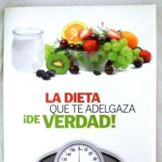 Libros de segunda mano: LIBRO LA DIETA QUE TE ADELGAZA DE VERDAD , RBA, 2012. Lote 219920583