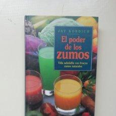 Libros de segunda mano: EL PODER DE LOS ZUMOS. Lote 220616630