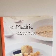 Libros de segunda mano: NUESTRA COCINA Nº 5 / MADRID / BIBLIOTECA METRÓPOLI-2004 / COMO NUEVO.. Lote 221485133