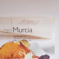 Libros de segunda mano: NUESTRA COCINA Nº 17 / MURCIA / BIBLIOTECA METRÓPOLI-2004 / COMO NUEVO.. Lote 221487023