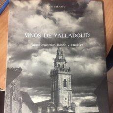 Libros de segunda mano: VINOS DE VALLADOLID. Lote 221611643