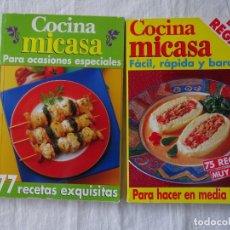Libros de segunda mano: COCINA MICASA, AXEL SPRINGER AÑOS 80-90. Lote 221611711