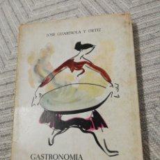 Libros de segunda mano: GASTRONOMIA ALICANTINA. Lote 221624526