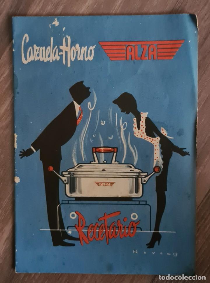 RECETARIO PARA CAZUELA - HORNO - ALZA. (Libros de Segunda Mano - Cocina y Gastronomía)