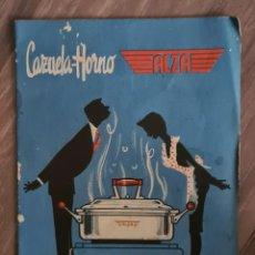 Libros de segunda mano: RECETARIO PARA CAZUELA - HORNO - ALZA.. Lote 221645368