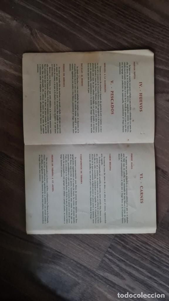 Libros de segunda mano: RECETARIO para CAZUELA - HORNO - ALZA. - Foto 3 - 221645368