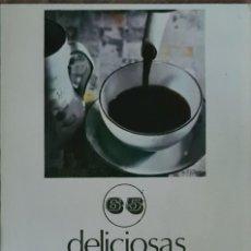 Libros de segunda mano: LIBRO - LIBRETO - ANTIGUO RECETARIO DE 65 DELICIOSAS RECETAS DE CAFE. Lote 221645961