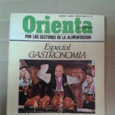 Libros de segunda mano: ORIENTA Y ACOMPAÑA POR LOS SECTORES DE LA ALIMENTACION. ESPECIAL GASTRONOMIA. Lote 221987765
