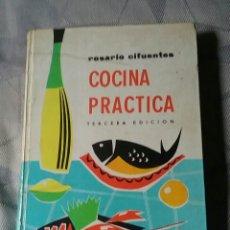 Libros de segunda mano: COCINA PRÁCTICA. ROSARIO CIFUENTES. TERCERA EDICIÓN. 1962. Lote 222250520