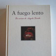 Libros de segunda mano: COCINA A FUEGO LENTO LA COCINA DE ANGELA LANDA 2ªEDICION 1992 CIRCULO CATOLICO. Lote 223156856