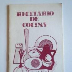Libros de segunda mano: RECETARIO DE COCINA ASOCIACION DE AMAS DE CASA MIRANDA DE EBRO 1980 1981 LA MUJER GUARDA DEL HOGAR. Lote 223193066