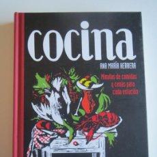 Libros de segunda mano: COCINA MINUTAS DE COMIDAS Y CENAS PARA CADA ESTACION 2004 ANA MARIA HERRERA SANTILLANA. Lote 223193560