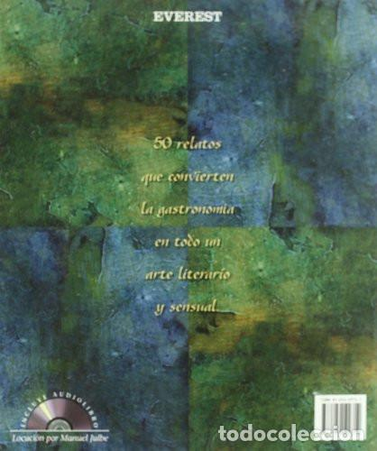 Libros de segunda mano: DE SABORES Y DE AMORES. Libro+CD. Manuel Julbe. Cobás Xosé (Ilustrador). Editorial Everest, 2004, - Foto 2 - 223775252