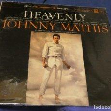 Libros de segunda mano: EXPRO LP DESDE 2€ A TU RIESGO LP USA 60S JOHNNY MATHIS HEAVENLY MUUCHAS LINEAS NO MORTALES. Lote 224328036